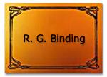 Eingangsschild FeWo Binding