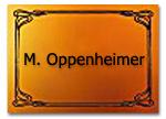 Eingangsschild FeWo Oppenheimer