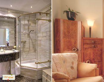 Badezimmer & Detail-Ansicht Sanssouci.