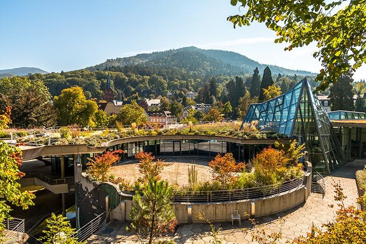 Das Kurhaus von Badenweiler