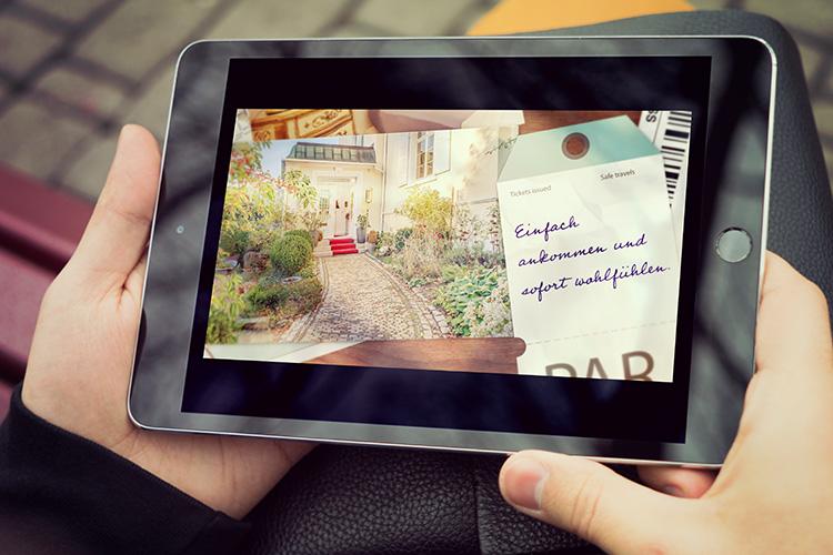 Blogbeitrag : Slider für Villa Hedwig