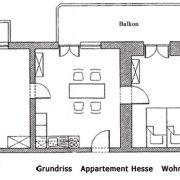 Grundriss App. Hesse