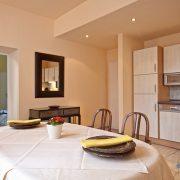 Küche + Esszimmer im Hesse App.
