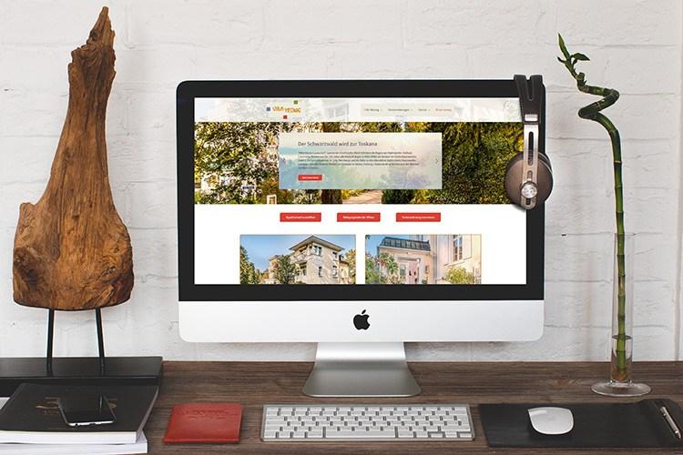 Beitragsbild : Website Relaunch Villa Hedwig