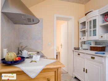 Küchen-Ecke in der Ferienwohnung