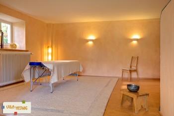 Praxisraum für Yoga, Craniosacraltherapie etc.